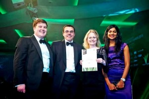 Staff at Law Society Excellence Awards