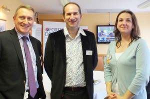 Managing Partner Robert Fox with guest Jason Allum and Solicitor Elizabeth York