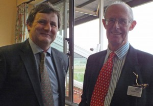 Richard Cuzens with Solicitor Brian Bennett
