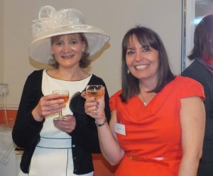 Guests Vicky Lewis and Jane Allum