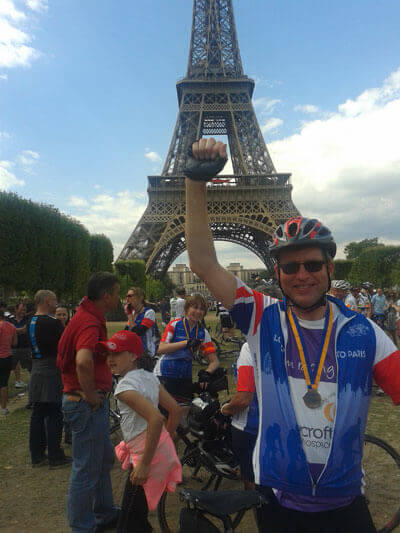 London to Paris finished!