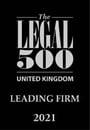 Legal UK Leading Firm 2021 logo